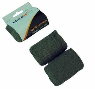 Polishing steel wool