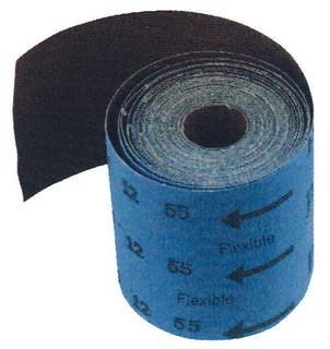 Flexible aluminium oxide abrasive cloth roll