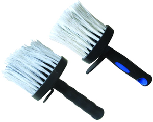 Round ceiling brush