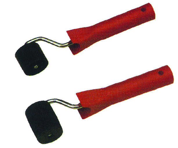 Plastic wallpaper rollers with frame